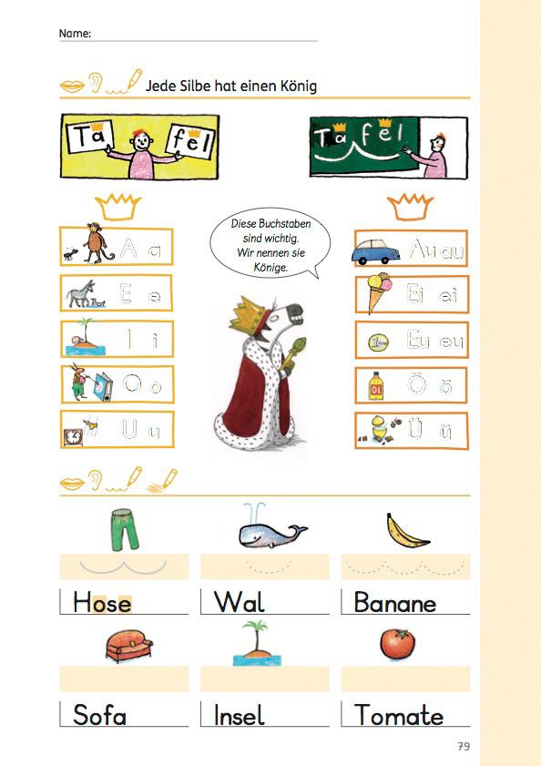 Individuelle Lernwege Jede Silbe Hat Einen Königsbuchstaben