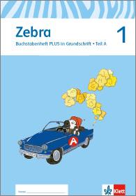 Zebra Buchstabenheft Grundschrift
