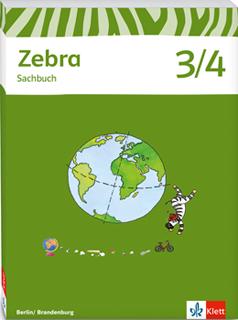 Zebra Sachbuch Klasse 3 4 zum neuen Rahmenlehrplan Berlin Brandenburg