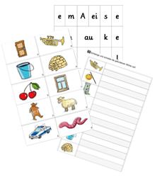 Zebra Lautierbriefe und Silbenbriefe