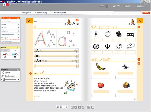 der digitale unterrichtsassistent zum zebrabuchstabenheft