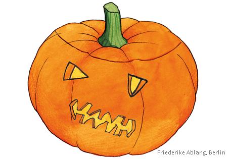 Halloween Spiel Gruselkiste