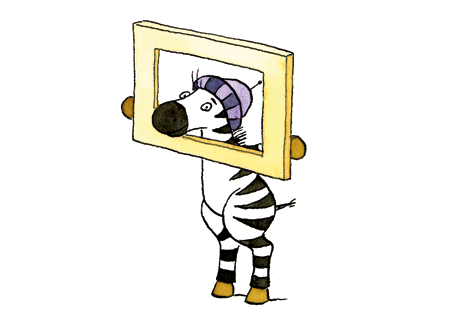 Zebra in eigener Sache