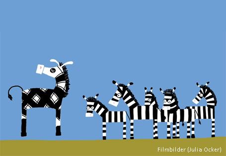 Zebrafilm Anderssein akzeptieren