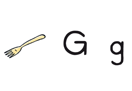 Der Buchstabe der Woche G, g