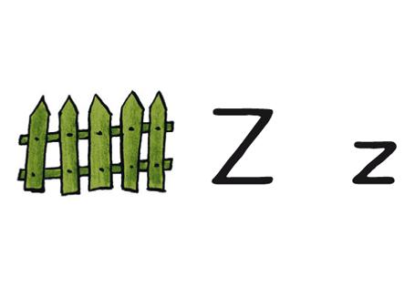 Buchstabe der Woche Z z