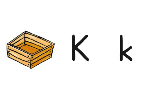 Buchstabe der Woche K k