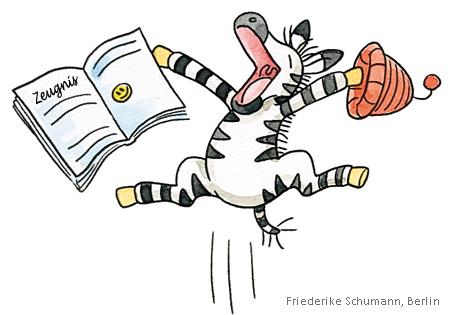 Zebra-Zeugnis