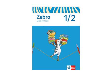 Umschlag Heft Zebra Lesen mit Franz 1/2
