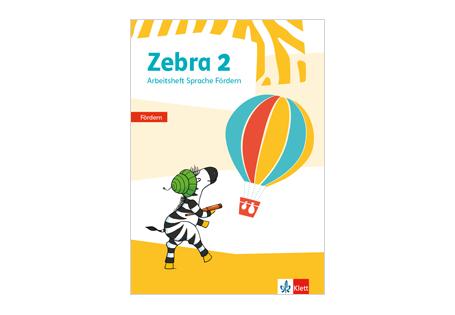 Cover Arbeitsheft Zebra Fördern Sprache 2