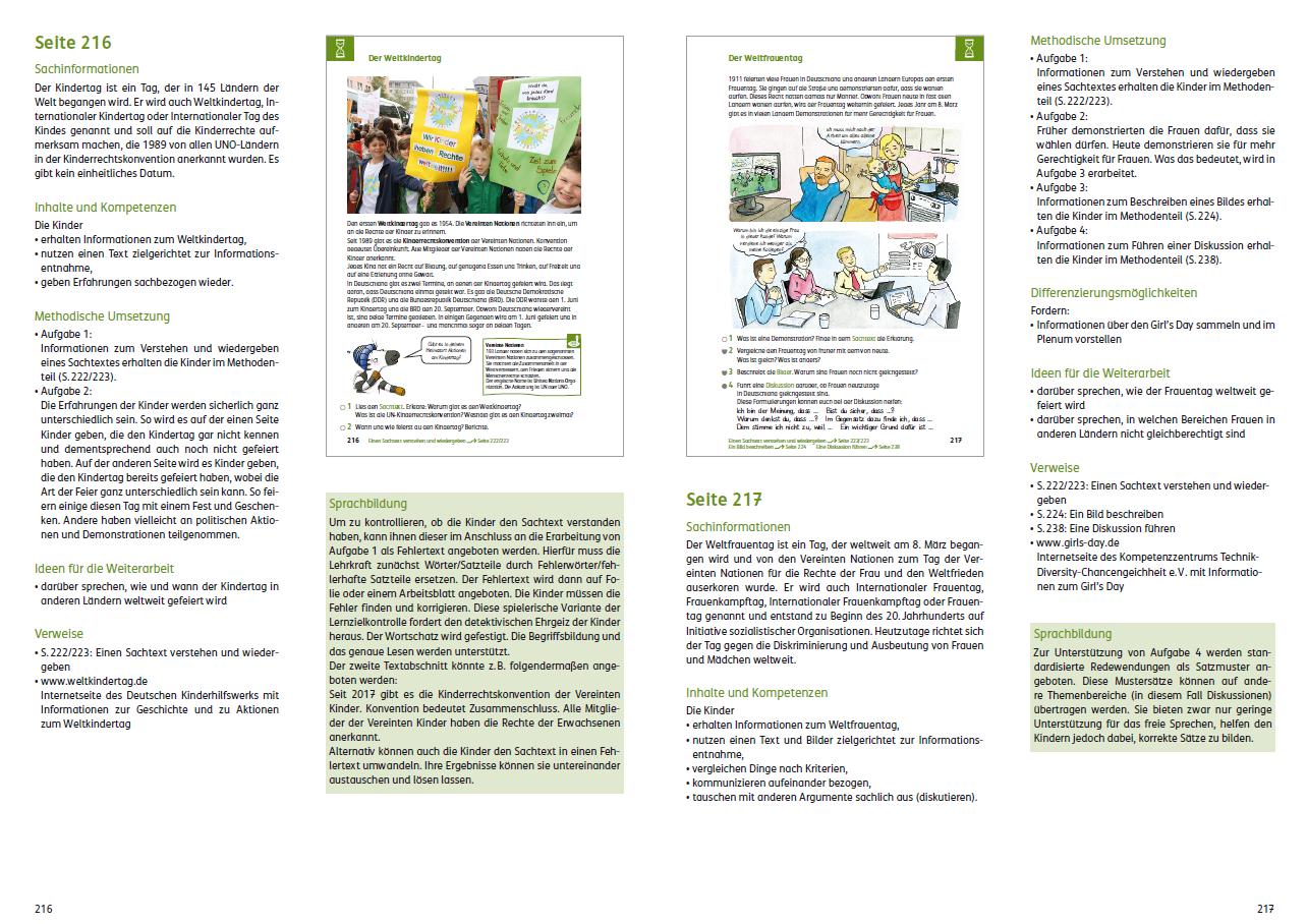 Zebra 3/4 Lehrerband zum Sachbuch mit Kopiervorlagen und CD-ROM