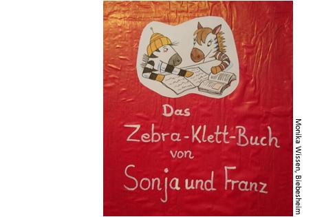 Das Zebra-Klett-Buch zur Buchstabe-Laut-Zuordnung der vereinfachten Zebra Lauttabelle, Monika Wissen