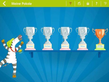 Meine Pokale App Zebra 3